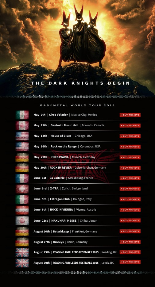 BABYMETAL-Tour 2015